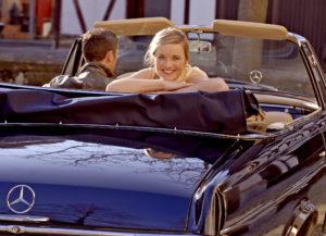 Romantische Fahrt <br> mit dem Oldtimer