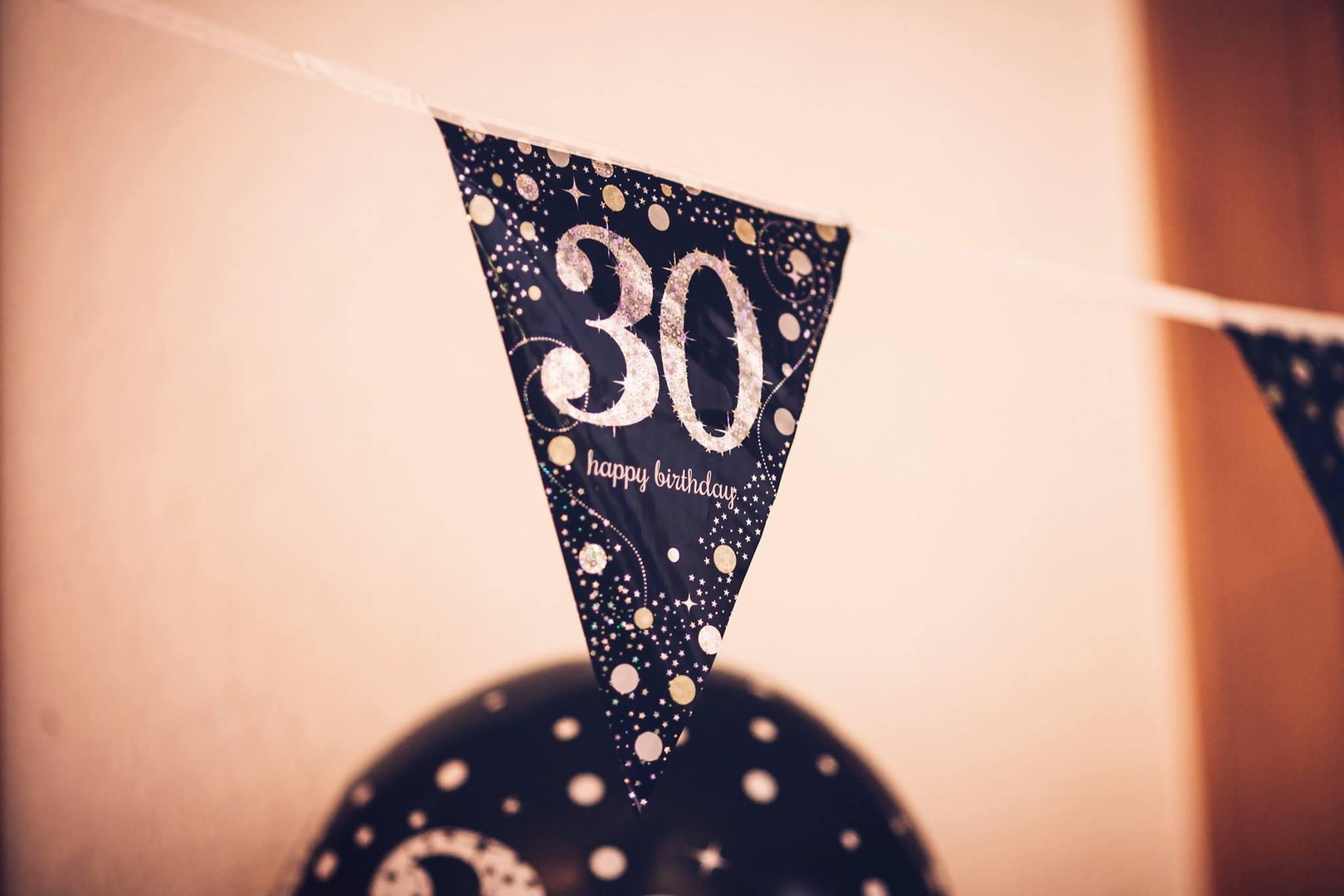 Nostalgisches Geburtstagsfest
